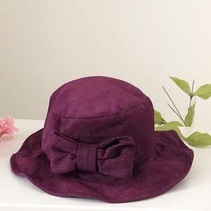 Accessories - Light Suede Hot Purple Hat